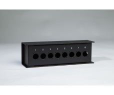 Aluminium Stage box-8XLR