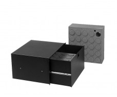 6U-Drawer plastic lock