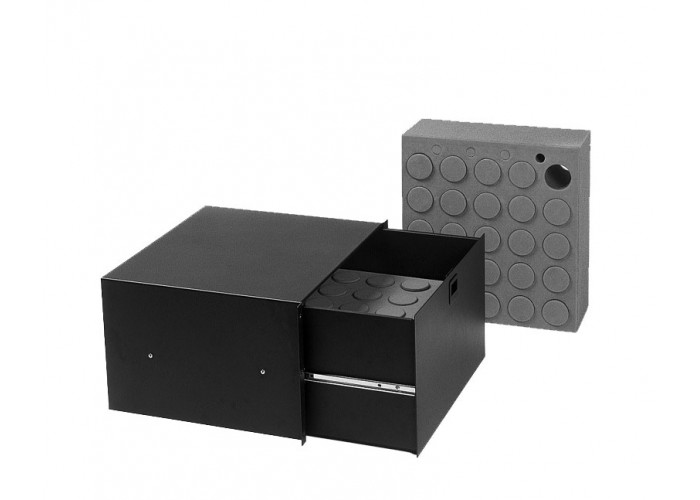 6U-Drawer plastic lock