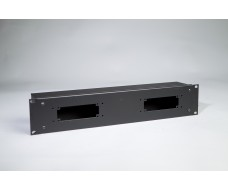 2U-Cover box 2xHarting