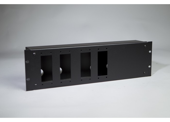 3U-Cover box 4xHarting
