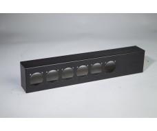 2U-Cover box 6xSocapex