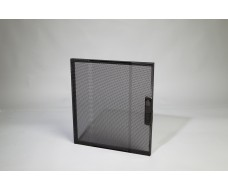 12U-Rack front door-black