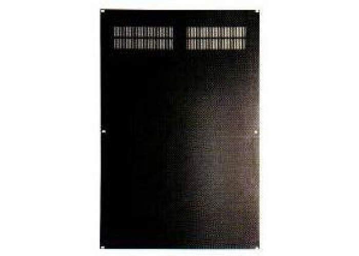 16U-Back plate-black