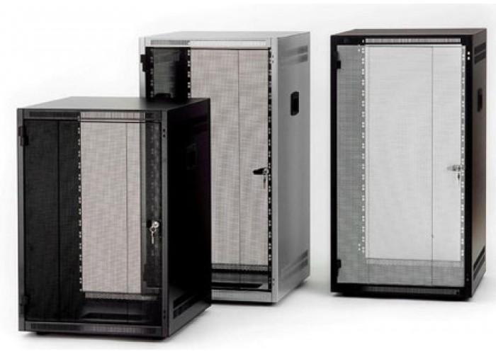16U-Rack front door-silver